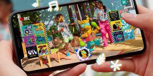 Vidiyo .. خدمة فيديو اجتماعية للواقع المعزز من Lego