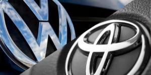 """""""تويوتا"""" تنتزع من """"فولكسفاغن"""" المرتبة الأولى عالميا في مبيعات السيارات"""