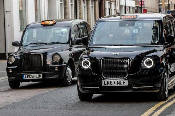 """""""تاكسي لندن"""" في دبي اعتبارا من فبراير المقبل"""